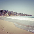 Laguna Beach Retro Picture Print by Paul Velgos