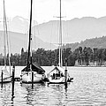 Lake Lucerne Switzerland  Print by Nian Chen
