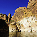 Lake Powell Rock and Sky Poster by Thomas R Fletcher