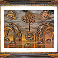 Land of World 8624042 Framed Poster by Betsy A  Cutler