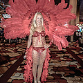 Las Vegas Showgirl Print by Edward Fielding