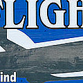 Last Flight Out a Key West State of Mind - Panoramic Poster by Ian Monk