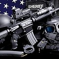Law Enforcement Tactical Sheriff Poster by Gary Yost