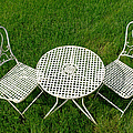 Lawn Furniture Poster by Olivier Le Queinec
