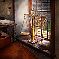 Lawyer - Scales of Justice Print by Mike Savad
