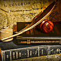 Lawyer - The Constitutional Lawyer Print by Paul Ward