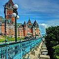 Le Chateau Frontenac Poster by Mel Steinhauer