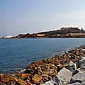 Le Fort Carre - Antibes - France Print by Christine Till