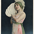 Le Theatre 1912 1910s France Mlle Print by The Advertising Archives