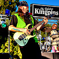 Lead Guitarist Jimmy Dence - The Fabulous Kingpins Print by David Patterson