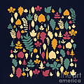 Leaf Collection Poster by Budi Satria Kwan