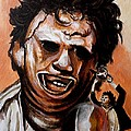 Leatherface Unleashed Poster by Al  Molina