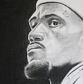 LeBron Print by Don Medina