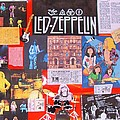 Led Zeppelin  Collage Number One Poster by Donna Wilson