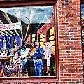 Legends Bar In Downtown Nashville Print by Dan Sproul