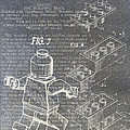 Lego Patent Print by Nick Pappas