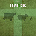 Leviticus Books of the Bible Series Old Testament Minimal Poster Art Number 3 Print by Design Turnpike