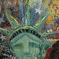 Liberty Breaking Out Print by Trish Bilich