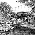 LIBERTY BRIDGE AT FALLS PARK - Architectural Rendering DETAIL Print by Andrew Wells