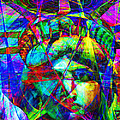 Liberty Head Abstract 20130618 Print by Wingsdomain Art and Photography