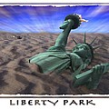 Liberty Park Poster by Mike McGlothlen