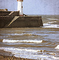 Lighthouse Print by Christopher and Amanda Elwell