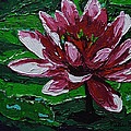 Lilly of the Water Print by Vickie Warner