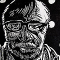 LINO CUT CHARLIE SPEAR Print by Charlie Spear