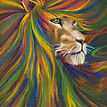 Lion Print by Kd Neeley