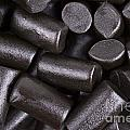 Liquorice background Print by Jane Rix