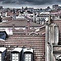 Lisbon Rooftops I Poster by Marco Oliveira
