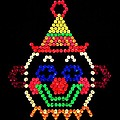 Lite Brite - The Classic Clown Poster by Benjamin Yeager