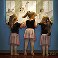 Little Dancing Dreamers Print by Doug Kreuger