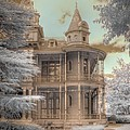 Littlefield mansion Print by Jane Linders