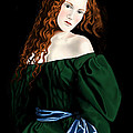 Lizzie Siddal Print by Andrew Harrison