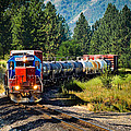 Local Train Print by Robert Bales