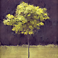 Lone Tree Willamette Valley Oregon Print by Carol Leigh