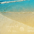 Longing for the sea... Print by Angela Doelling AD DESIGN Photo and PhotoArt