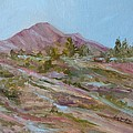 Looking Up the Hill Print by Jo Anne Neely Gomez