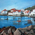 Loshavn Print by Janet King