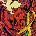 Love and Liberty Print by Kevin J Cooper Artwork