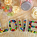 Love Candies Poster by Lars Ruecker