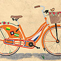 Love Holland Love Bike Poster by Andy Scullion