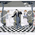 Love is Blind Print by Georges Barbier