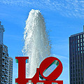 LOVE Park Print by Olivier Le Queinec