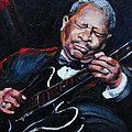 Lovin Lucille B B King Poster by Carole Foret