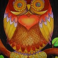 Loving Owl by Lou Cicardo