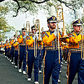 LSU Marching Band 3 Print by Steve Harrington