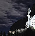 Ludwig's castle at night Poster by Matt MacMillan