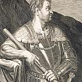 M Silvius Otho Emperor of Rome Poster by Titian